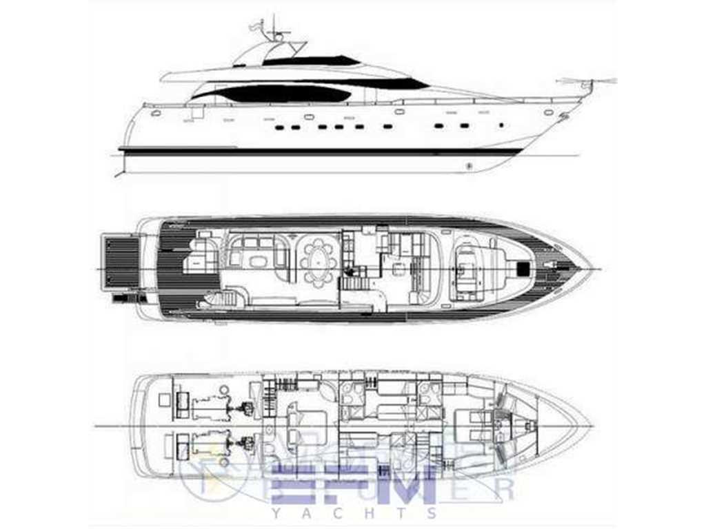 fipa italiana yachts maiora 24 s usato del 2005  vendita