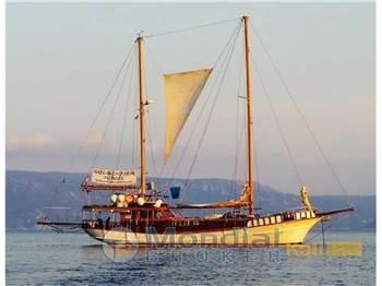 Ship Yard Gulluk goelette caique